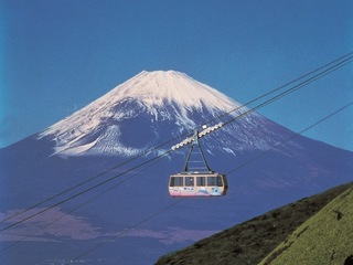 2-Day Mt. Fuji, Hakone & Hot Spring Tour (1 Night at Hotel New Akao in Atami, with Dinner & Breakfast) (No JR Ticket Included) [Departs from Asakusa, Ginza & Shiba]